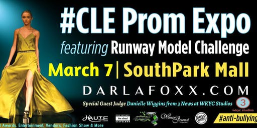 #CLE Prom Expo featuring The Darlafoxx Project Runway Model Challenge