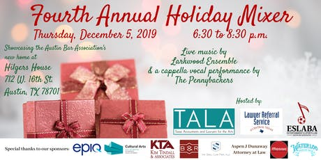 Fourth Annual Holiday Mixer tickets