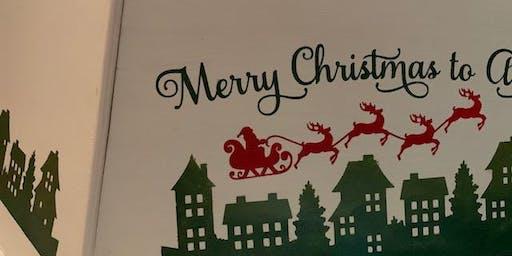 New Item! Personalized Christmas Tree Collar! BYOB