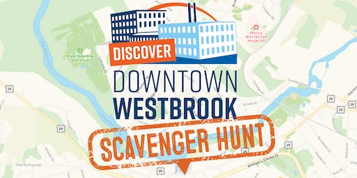 Discover Downtown Westbrook Scavenger Hunt