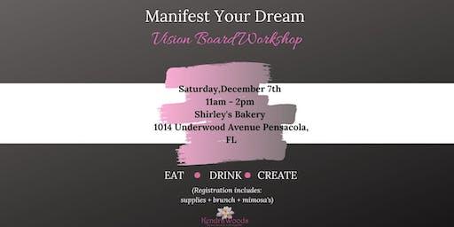 Manifest Your Dream Vision Board Workshop