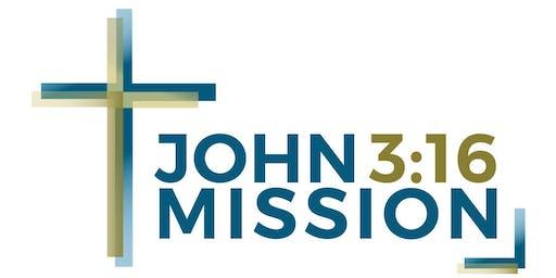 John 3:16 Mission Donor Dinner