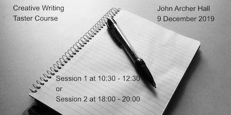 Creative Writing - Taster Sessions tickets