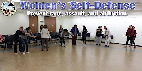 Women's Self-Defense Workshop (Franklin Square Public Library) tickets