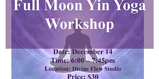 Full Moon Yin Yoga Workshop