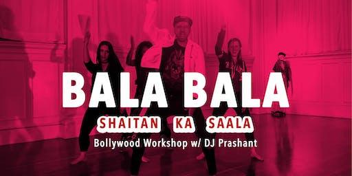 Bollywood Dance Workshop | Bala Challenge w/ DJ Prashant in Hillsboro