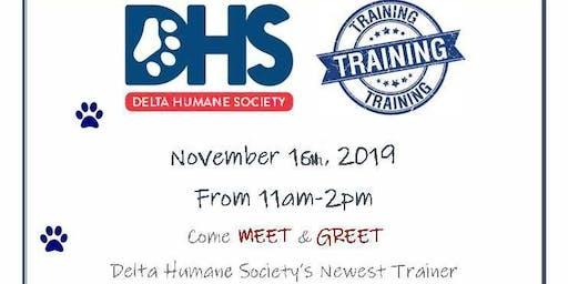 Delta Humane Society Meet & Greet with Gary Gilbert