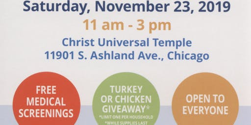 Free Turkey & Community Health Fair