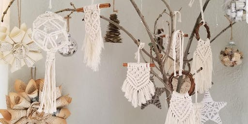 Holiday Macrame Ornament Workshop