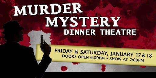 Murder Mystery Dinner at Lake Lawn Resort 1/18/20