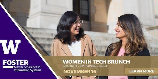 Leading Disruptive Innovation - Women in Tech Brunch