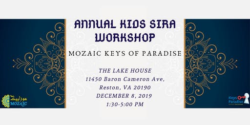 Keys of Paradise Annual Kids Sira Workshop 2019