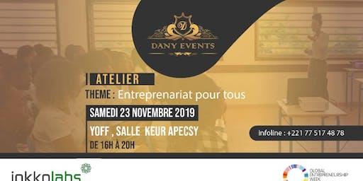 """Atelier """"Entreprenariat pour tous"""""""