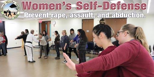Women's Self Defense Workshop (John Jermain Memorial Library)
