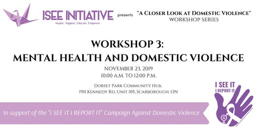 Mental Health and Domestic Violence