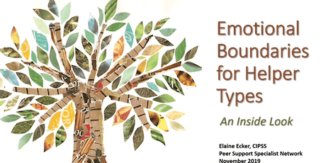 Emotional Boundaries for Helper Types PORTLAND tickets