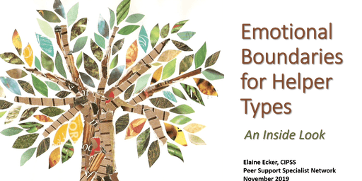 Emotional Boundaries for Helper Types AUGUSTA
