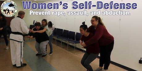 Women' Self Defense Workshop (Locust Valley Library) tickets