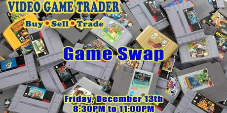 Video Game Trader - Game Swap tickets