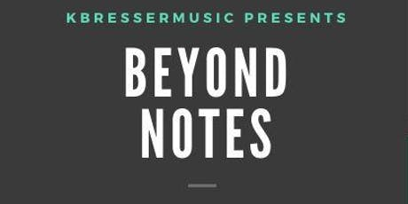 Beyond Notes: Unleashing the Artist Within (Beta Workshop) tickets