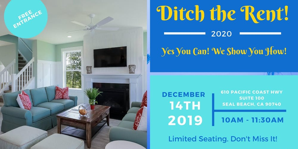 First Time Home Buyer 2020.Ditch The Rent First Time Home Buyer Event Tickets Sat