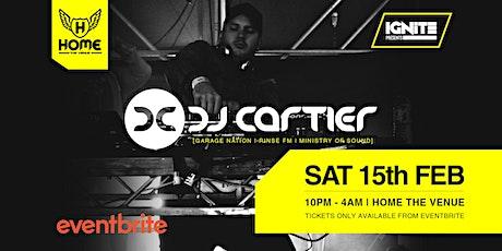 DJ Cartier - UK Garage Sydney Debut tickets