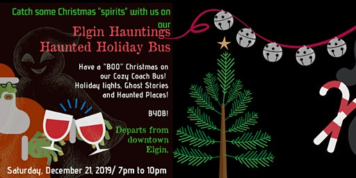 Elgin Hauntings Holiday Bus