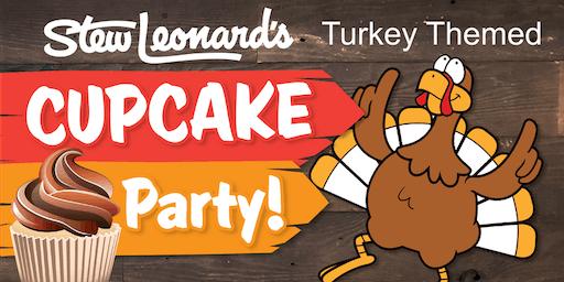 Turkey-Theme Cupcake Toddler Class