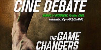 """Cine debate """"Game changers"""" con el equipo de SAMEV"""