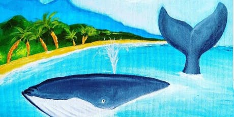 Paint Create Art - The Whale (part proceeds to AYLA Inc) tickets