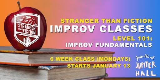 Improv 101: Improv Fundamentals (Manchester) with Stranger Than Fiction