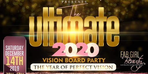 The ULTIMATE 2020 Vision Board Party