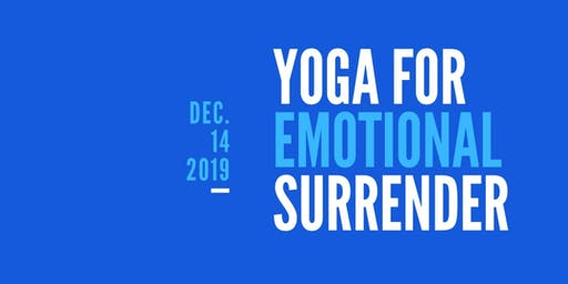 "Strive Counseling Hosts ""YOGA FOR EMOTIONAL SURRENDER"" with Gillian Shapiro"
