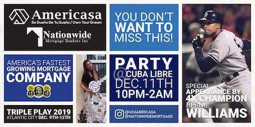 Cuba Libre - Bernie Williams - VIP Meet & Greet Nationwide Mortgage Bankers