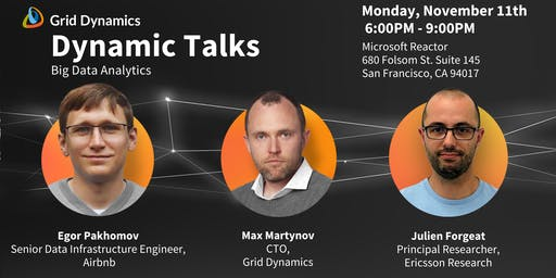 "Dynamic Talks: San Francisco ""Big Data Analytics"""