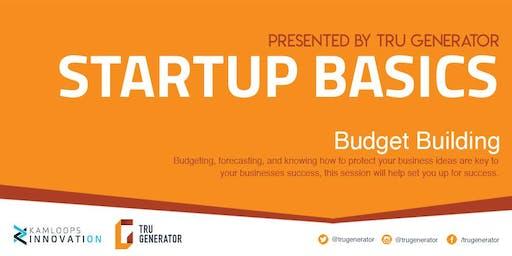 Startup Basics   Budget Building