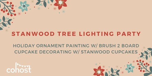 Stanwood Tree Lighting Party at Cohost