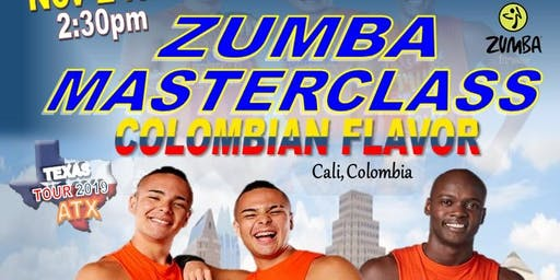Zumba Master Class Colombian Flavor