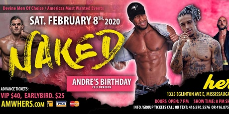 Naked-AMWEvents & DMOC tickets