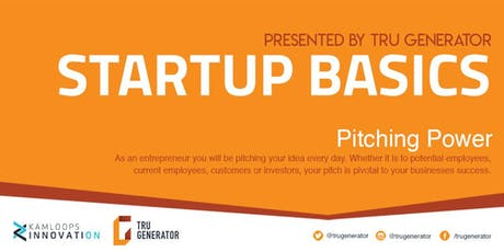Startup Basics | Pitching Power tickets