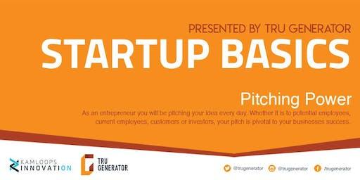 Startup Basics   Pitching Power