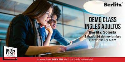 Demo Class Inglés 100% Conversacional