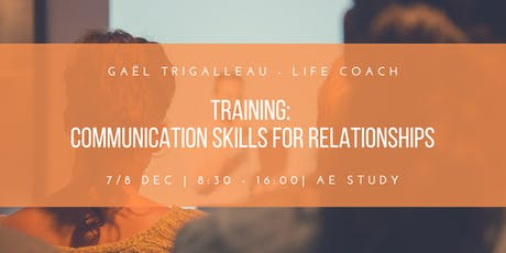 Training : Communication skills for relationships tickets