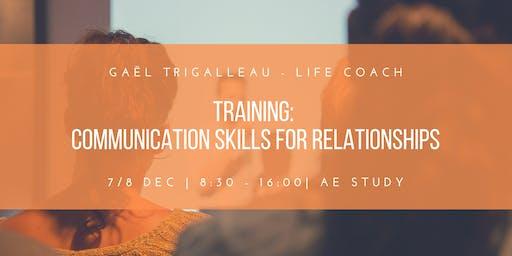 Training : Communication skills for relationships