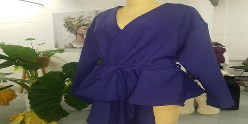 Sip and Sew- Project: Peplum Jacket