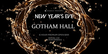 Gotham Hall New Years Eve 2020 Party tickets