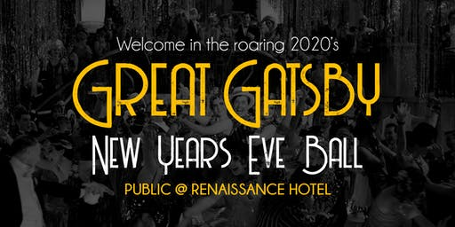 Great Gatsby New Year's Eve Ball