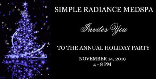 Holiday Event and Bring a Bear Party @Simple Radiance Medspa