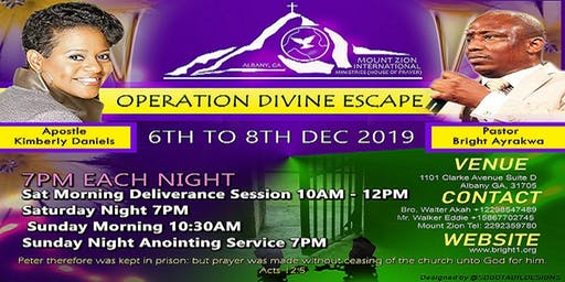 OPERATION DIVINE ESCAPE