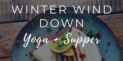 Yoga + Supper - Winter Wind Down